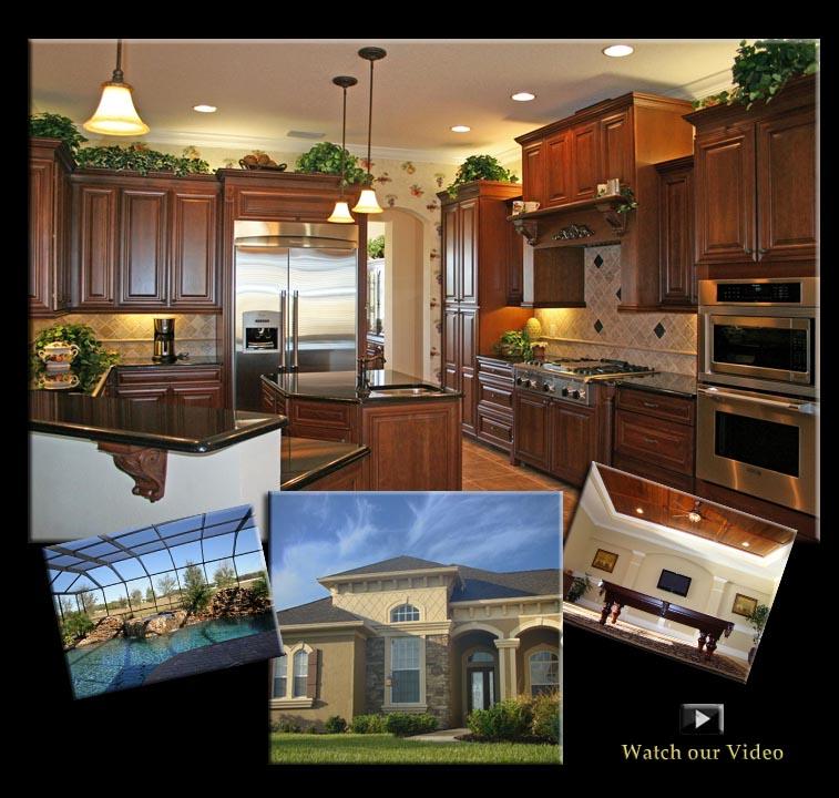 Florida Custom Home Builder, Southern and Traditoinal Homes